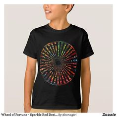 Wheel of Fortune - Sparkle Red Designs T-Shirt