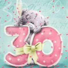 Me To You Tatty Teddy Birthday Celebration Card Birthday Card Sayings, Birthday Greetings, Birthday Wishes, Birthday Cards, Tatty Teddy, Happy 30th Birthday, Bear Birthday, Birthday Month, Celebration Love