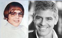 George Clooney...Then and Now!!