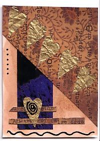 love this mixed media cards