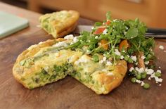 Summer 'Peasto' Frittata