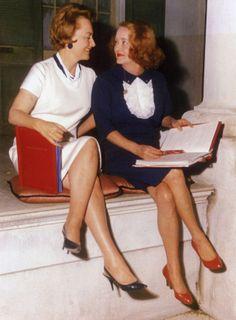 HUSH, HUSH, SWEET CHARLOTTE (1965) - Olivia de Havilland & Bette Davis study the script - 20th Century-Fox - Publicity Still.