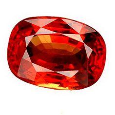 3.47 CT. NATURAL EXCEPTIONAL HOT ORANGE SAPPHIRE GEMS | http://www.cybermarket24.com/3-47-ct-natural-exceptional-hot-orange-sapphire-gems/