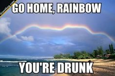 Drunk Rainbow | Click the link to view full image and description : )