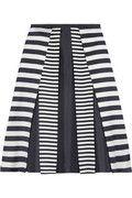 MICHAEL KORS  Pleated wool and silk-blend skirt  $1,895