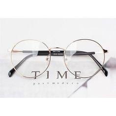 1920s Vintage Oilver Retro Round Eyeglasses metal 0e13 gold frames eyewear ruby