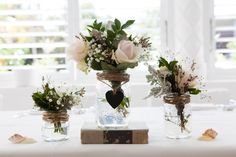 Sally and Andrew's Vintage Style Noosa Wedding On The Beach