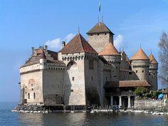 Château Chillon o Invernalia: 'Winter is coming'(Suiza)