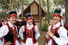 Folk Costume, Costumes, Polish Folk Art, Warsaw, Poland, Captain Hat, Inspiration, Color, Beauty