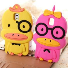 Cute Yellow Duck Silicone Cover Soft Case for Samsung Galaxy Note III 3 Ipod Cases, Cool Phone Cases, Samsung Note 3, Samsung Galaxy, Ipad Accessories, Phone Cover, Minions, 3d, Yellow