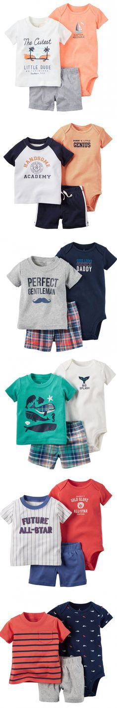 2016 summer baby boys body + T-shirt + shorts 3 pieces clothing sets , brand roupas bebes meninos clothes babies