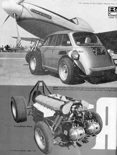 P51 Mustang 2000hp engine on a Isetta