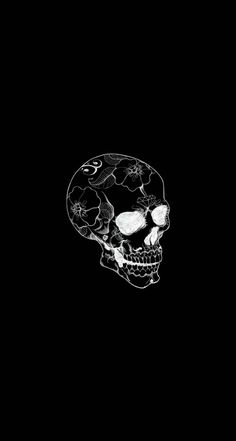 Great for a t-shirt - Wallpaper Skull Wallpaper, Dark Wallpaper, Tumblr Wallpaper, Screen Wallpaper, Wallpaper Backgrounds, Iphone Wallpaper, Black Aesthetic Wallpaper, Aesthetic Wallpapers, Skeleton Art