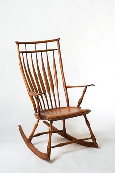 Get cozy in this contemporary take on the Windsor rocking chair. #etsyhome