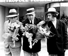 """THE SITTER DOWNERS (Episode 27-1937) The Stooges are in love. After they arrive at their girlfriends' house they ask them to marry and the girls say yes. But """"Papa"""" says no, so the Stooges stage a sit-down strike and stay in the house until they get the nation's sympathy."""