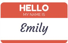 Hello My Name Is, The Girl Who, Getting To Know, Company Logo, Names, Meet, Logos, A Logo, Logo