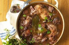 Slow Cooked Coq au Vin