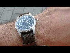 HAMILTON KHAKI FIELD mechanical H69439931 Hamilton Khaki Field, Watches, Silver, Leather, Accessories, Wrist Watches, Wristwatches, Money, Clocks