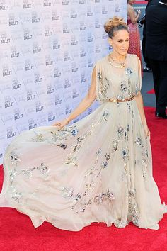 SJP in Valentino Couture at the 2012 New York City Ballet Fall Gala.   - HarpersBAZAAR.com
