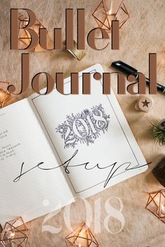 The ultimate Bullet Journal Setup 2018 (free printable + give away) - tea & twigs