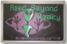 alien bulletin board ideas for teens | Pinned by Niane McMillan