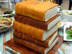 Library book cake Created for the grand re-opening of the National Museum of Natural History Library, Washington, D. Pretty Cakes, Beautiful Cakes, Amazing Cakes, Fantasy Cake, Cake Shapes, Book Cakes, Unique Cakes, Novelty Cakes, Cupcake Cookies