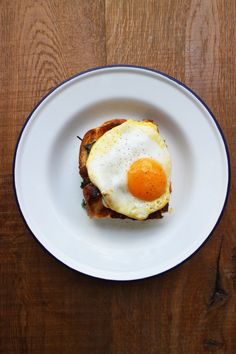 Need to vegify: Egg and Bacon Bread Bake - Rachel Khoo