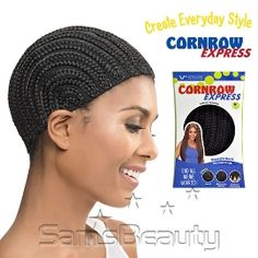 Solution for short hair problems Great for any type of weaving techniques of your choice Secure fit - No sliding, Molds to Fit to your Head Protects natural hair (Do not hurt your own hair anymore) Versatility in styles - create everyday styles! #hairtools #hairaccessories #wig #wigcap #blackgirlmagic #blackgirlhair