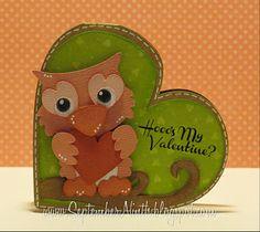hoo's my valentine?  cute little fellow <3