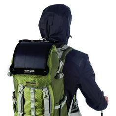 "SunnyBAG LEAF - ""the lightest, most flexible outdoor solar system in the world"" for outdoor lovers and everybody who wants to use an independent electric power supply. Mobiles, Musik Player, Bike Equipment, Solar Charger, Camping Gear, Solar System, Outdoor, Bags, Euro"