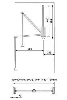 Standard Closet Rod Height New Wood Lift Motorized Clothes Rail  Storage  Pinterest  Closet