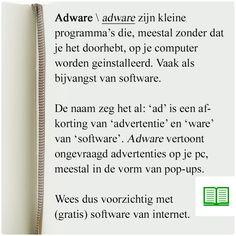 Een woord dat je steeds vaker hoort: adware.