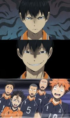 EVERYONE'S FACE OMFGG || Haikyuu ♛
