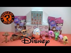 NEW Funko Disney Series 2 Mystery Minis / Kinder Egg / Littlest Pet Shop...