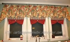 How to Make a Simple Clip Valance - Sew or No Sew
