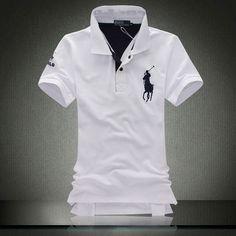 Polo Shirt - Branded Ralph Lauren in white