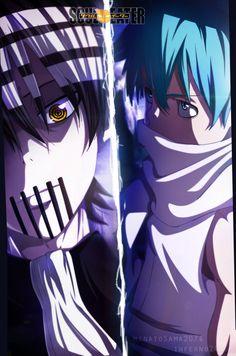 Death The Kid VS Black Star - Soul Eater
