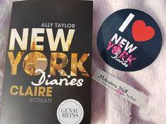 New York Diaries: Claire von Ally Taylor -REZENSION- Buchblog, Bücher, Claire, Buchblogger, deutschsprachig