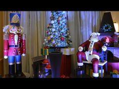 ▶ Holiday Chocolate Santa Display at WDW Swan Hotel - Interview w/ Pastry Chef Laurent Branlard - YouTube