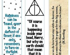 harry potter bookmarks - Google Search