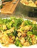 Such awesome Chicken Fried Rice - Curtis Stone's recipe. I took out broccoli and added extra veggies like mushrooms, peas- excellent and easy!