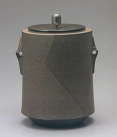 Japanese iron tea kettle by National Living Treasure of Japan, TAKAHSHI Keiten (1920-2009)