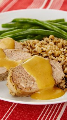 Slow-Cooker Honey Dijon Pork Tenderloin - This honey-dijon pork tenderloin makes for an easy dinner with little prep. Preparing it in the slow cooker ensures that the meat is packed with flavor and super tender. Shared by Where YoUth Rise Mustard Pork Tenderloin, Slow Cooker Pork Tenderloin, Pork Tenderloin Recipes, Pork Recipes, Slow Cooker Recipes, Crockpot Recipes, Cooking Recipes, Cooking Kale, Cooking Fish