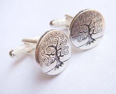 Cool Tree Cufflinks