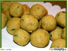 Kvasnicovo bilkove knedlicky s Hraskou Soup, Potatoes, Vegetables, Potato, Vegetable Recipes, Soups, Veggies