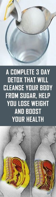 Weight Loss Remedies A Complete 3 Day Detox That Will Cleanse Your Body From Sugar, Help You Lose Weight And Boost Your Health Full Body Detox, Cleanse Your Body, Body Reset, Healthy Cleanse, 3 Day Detox, Diet Detox, Detox Plan, Cleanse Diet, Lose Weight