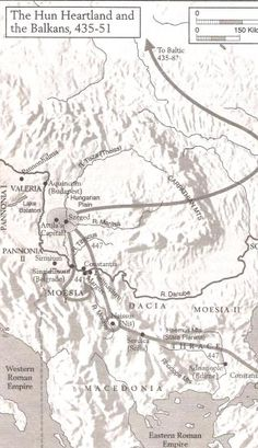 HISTORY OF THE HUNS; WORLD JOURNAL Attila the Hun's western capital was very near Szeged, at the junction of the Maritsia River and River Tisza (Theiss), southeast of Budapest, on the Hungarian Plain. Pannonia was to the North and West, and Moesia, Dacia and Thrace were to the south.