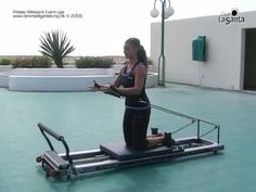 Just got my pilates reformer. This is going to be fun! Pilates Body, Pilates Reformer Exercises, Pilates Barre, Pilates Videos, Videos Yoga, Pilates Training, Pilates Studio, Aeropilates Reformer, Pilates Machine