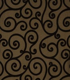 Upholstery Fabric-Jaclyn Smith Rooftop Pecan, hi-res. Maybe for the bedroom?