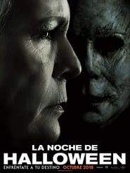Halloween is a movie starring Jamie Lee Curtis, Judy Greer, and Andi Matichak. Laurie Strode confronts her long-time foe Michael Myers, the masked figure who has haunted her since she narrowly escaped his killing spree on Halloween. Halloween 2018, Halloween Film, Halloween Poster, Halloween Halloween, Halloween Jamie, Michael Myers